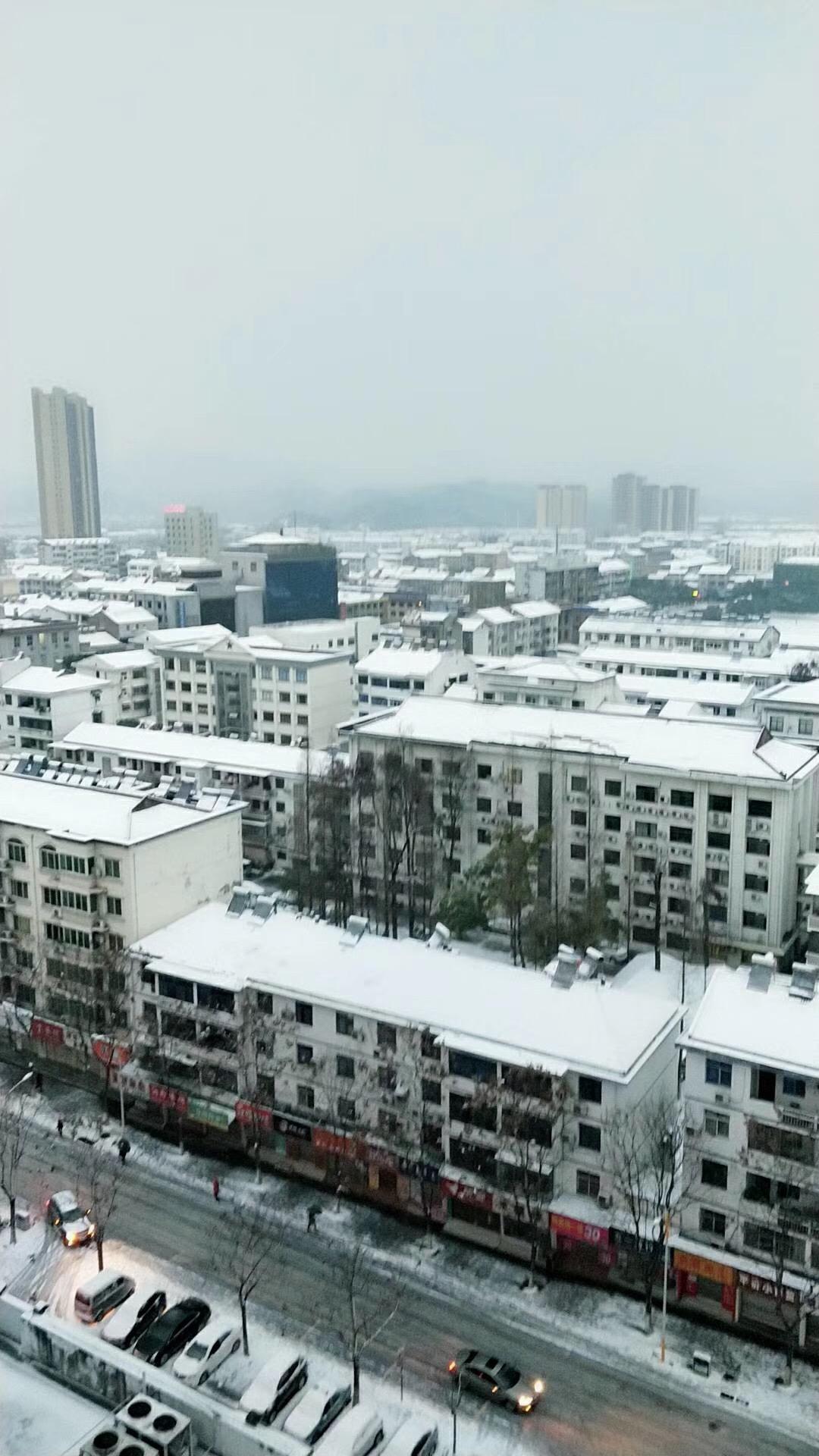 宜昌多地迎来新年首场大雪,你那里下雪了吗?